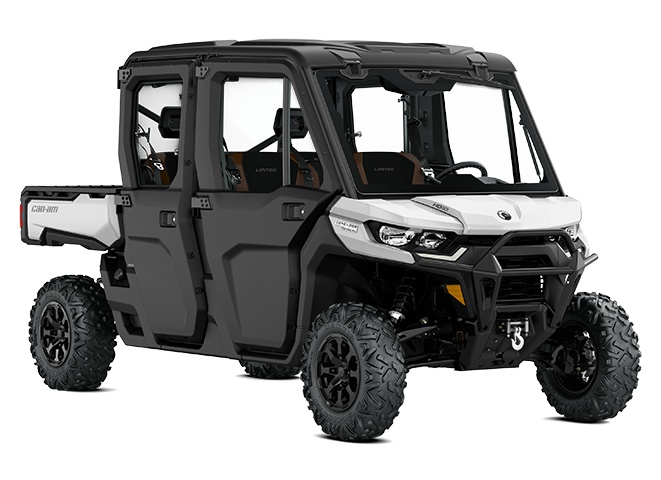 Can-Am Defender MAX Limited Hyper argent 2021