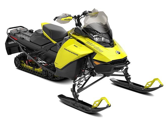 2022 Ski-Doo Renegade Adrenaline Rotax 600R E-TEC Sunburst Yellow / Black
