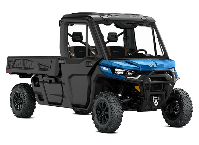 Can-Am Defender Pro Limited Bleu oxford 2021