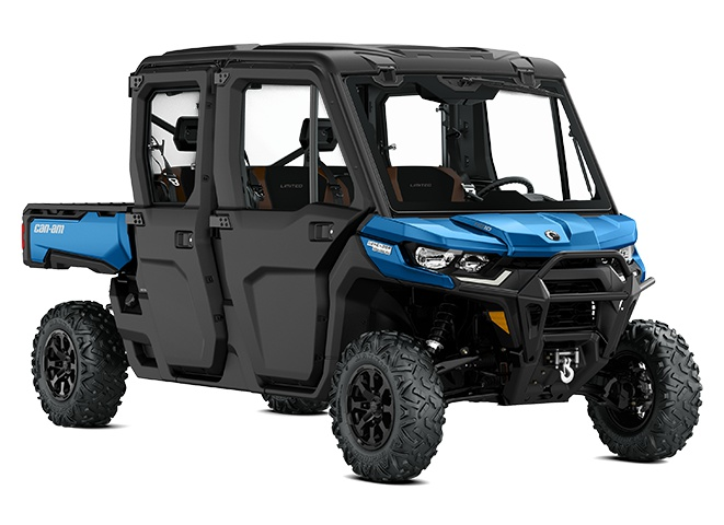 2021 Can-Am Defender MAX Limited Oxford Blue