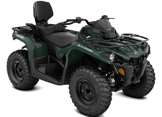 2021 Can-Am Outlander MAX DPS 450 Tundra Green