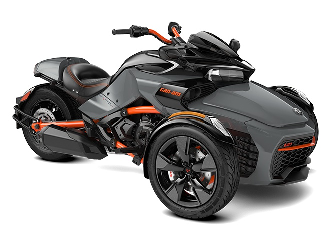 2021 Can-Am Spyder F3-S Special Series Gravity Grey