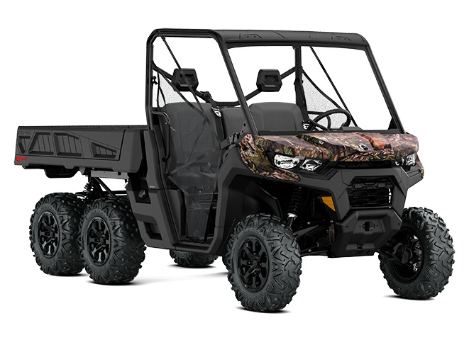 2021 Can-Am Defender 6X6 DPS Mossy Oak Break-Up Country Camo
