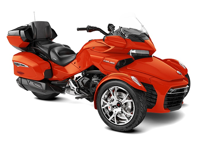 2021 Can-Am Spyder F3 Limited Magma Red Metallic