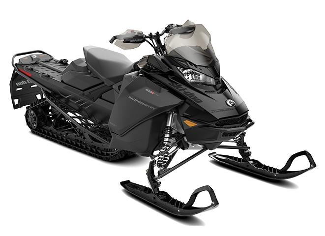 2022 Ski-Doo Backcountry Rotax 600R E-TEC Black