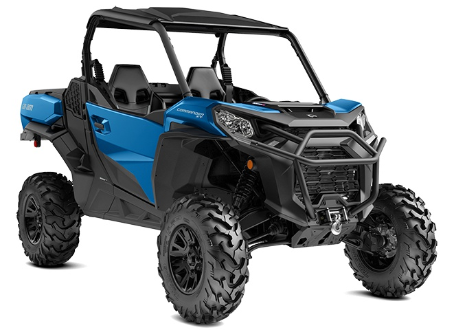 Can-Am Commander XT  Bleu Oxford 2021