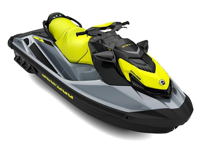 2021 Sea-Doo GTI SE 170 Neon Yellow / Ice Metal