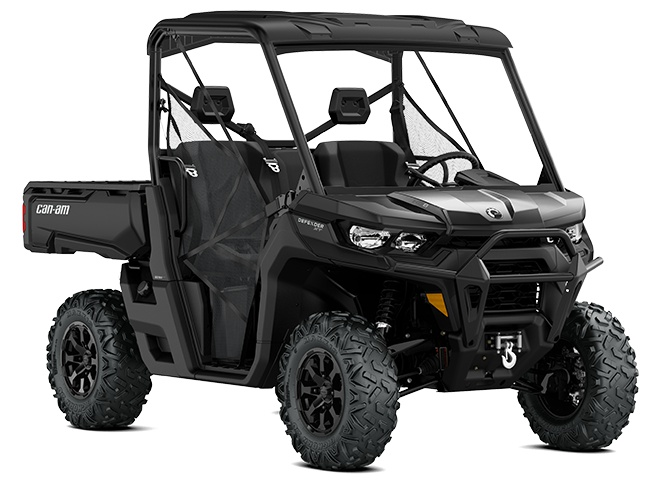 2021 Can-Am Defender XT HD8 Timeless Black
