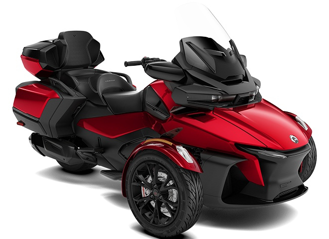 Can-Am Spyder RT Limited Gris Asphalte Métallique 2021