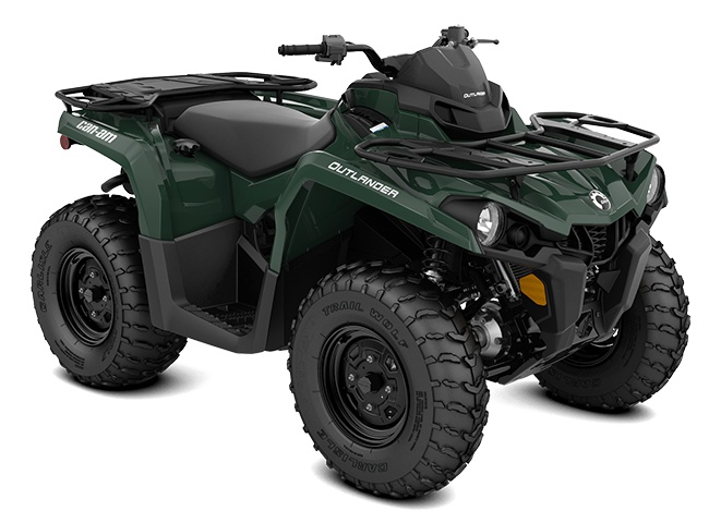 2021 Can-Am Outlander DPS 570 Tundra Green