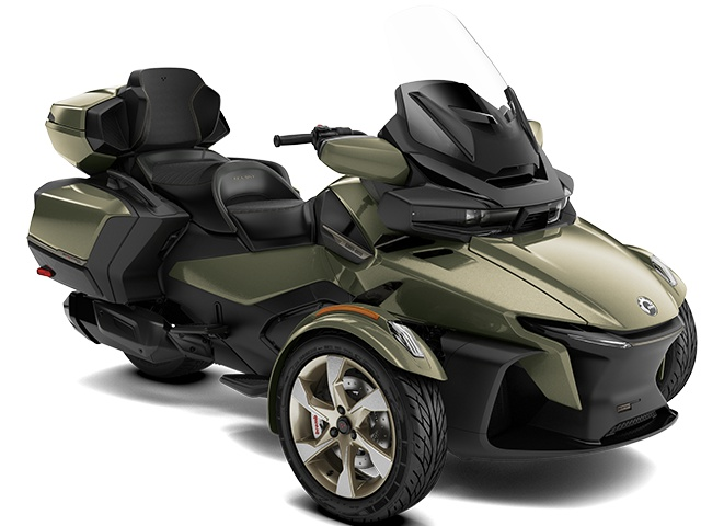 2021 Can-Am Spyder RT Sea-to-Sky Highland Green