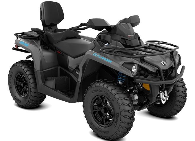 2021 Can-Am Outlander MAX XT 570 Iron Gray & Octane Blue