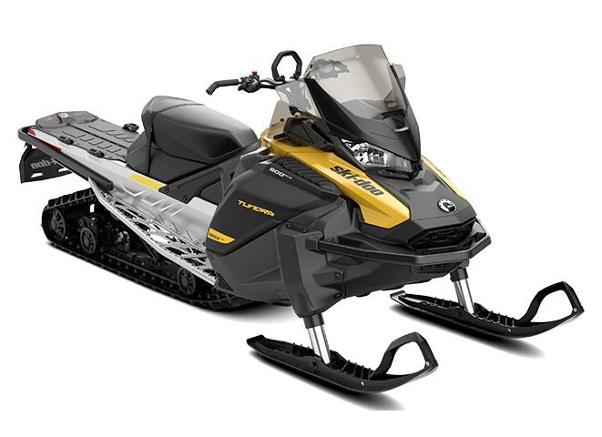 Ski-Doo Tundra LT Rotax 600 EFI Jaune néo / Noir 2022
