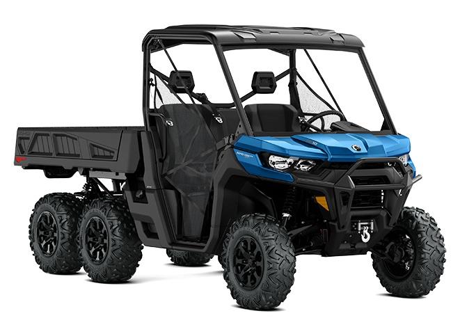2021 Can-Am Defender 6X6 XT Oxford Blue
