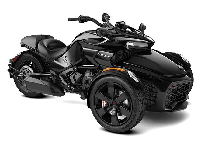 2021 Can-Am Spyder F3 Steel Black Metallic