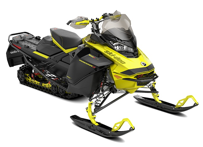 2022 Ski-Doo Renegade X Rotax 900 ACE Turbo R Sunburst Yellow / Black