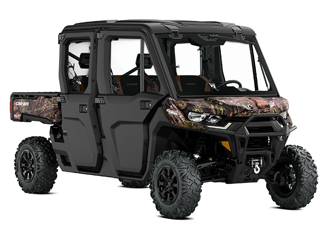 2021 Can-Am Defender MAX Limited Mossy Oak Break-Up Country Camo