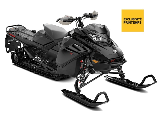 Ski-Doo Backcountry X-RS  Noir ultime 2022