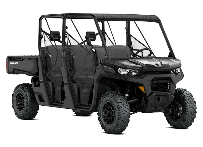2021 Can-Am Defender MAX DPS HD8 Timeless Black