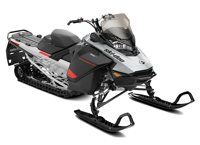 Ski-Doo Backcountry Sport Gris catalyst / Noir 2022