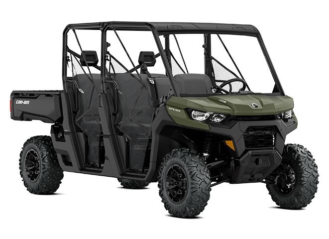 2021 Can-Am Defender MAX DPS HD8 Green