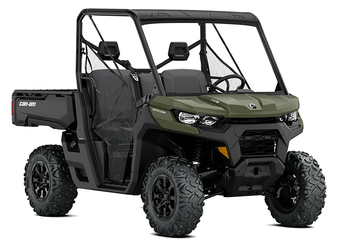 2021 Can-Am Defender DPS HD8 Green