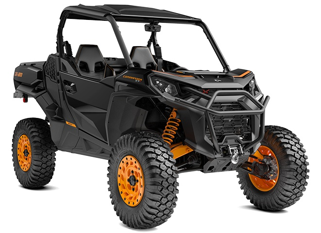 Can-Am Commander XT-P Noir triade et orange 2021