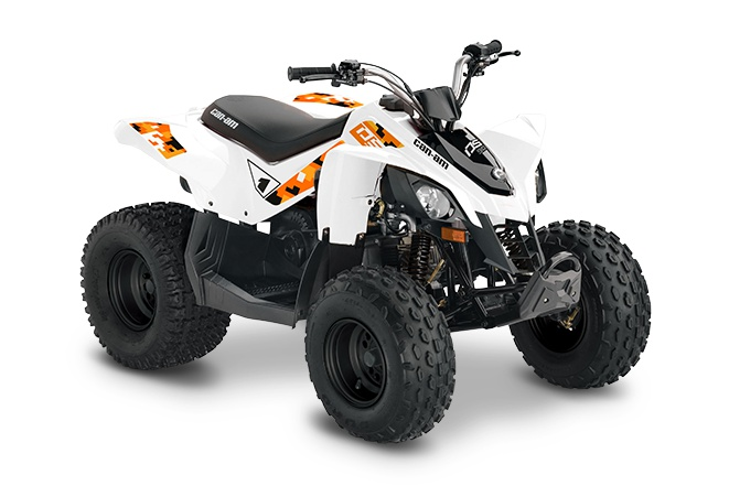 2021 Can-Am DS 90 White