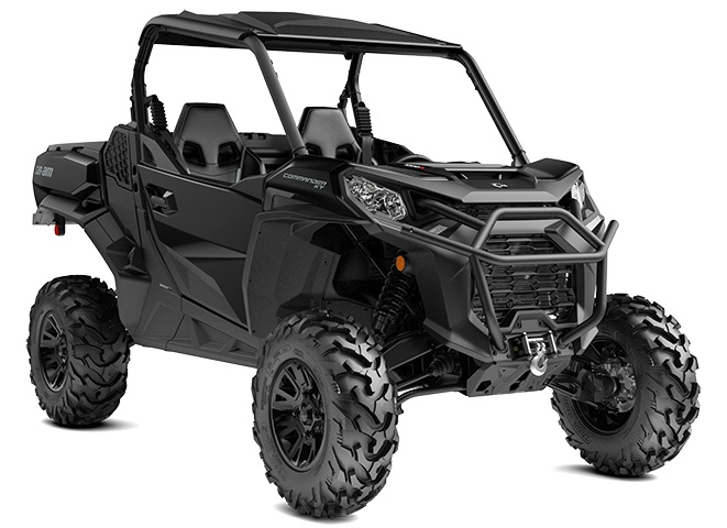 Can-Am Commander XT  Noir Triade 2021