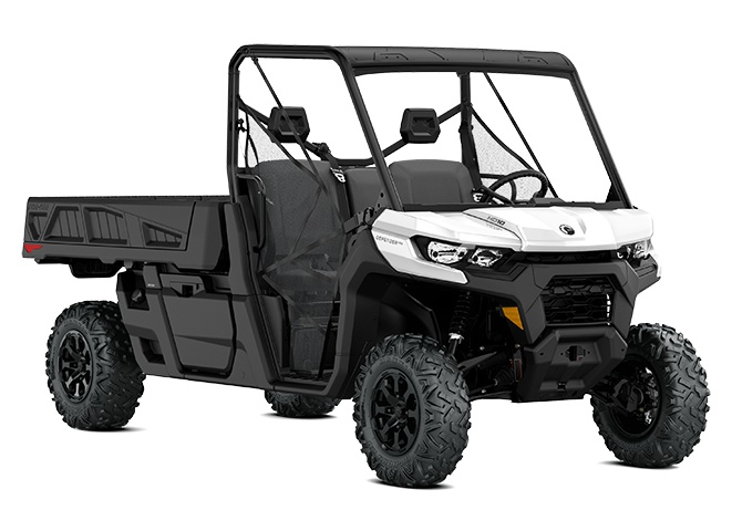 2021 Can-Am Defender Pro DPS White