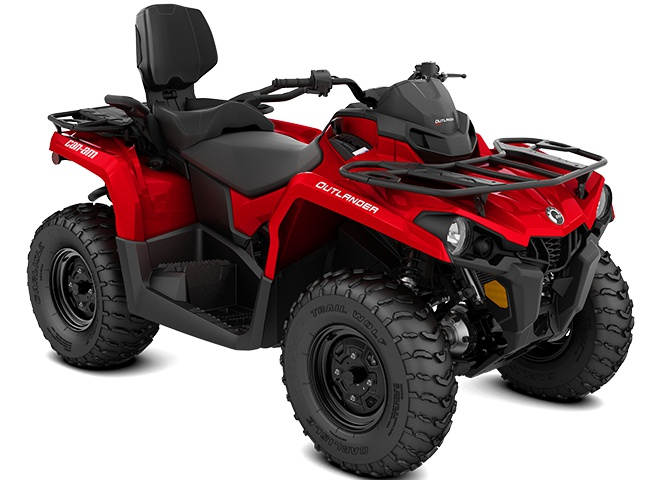 2021 Can-Am Outlander MAX 570 Viper Red