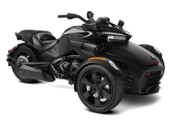 2021 Can-Am Spyder F3-S Monolith Black Satin