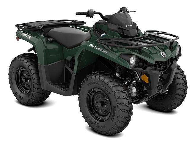 2021 Can-Am Outlander 450 Tundra Green