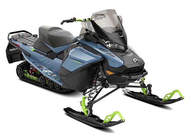 2022 Ski-Doo Renegade Enduro Rotax 600R E-TEC Scandinavian Blue / Manta Green