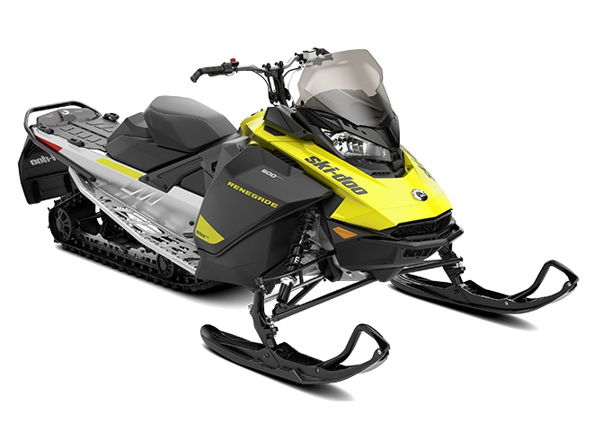 2022 Ski-Doo Renegade Sport Rotax 600 ACE Sunburst Yellow / Black
