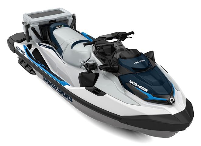 Sea-Doo Fish Pro 170 Blanc / Bleu océan 2021