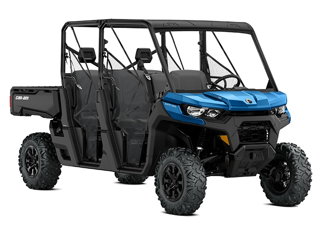 Can-Am Defender MAX DPS HD10 Bleu oxford 2021