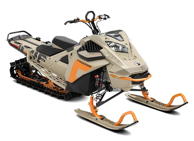 2022 Ski-Doo Freeride Rotax 850 E-TEC Turbo Arctic Desert
