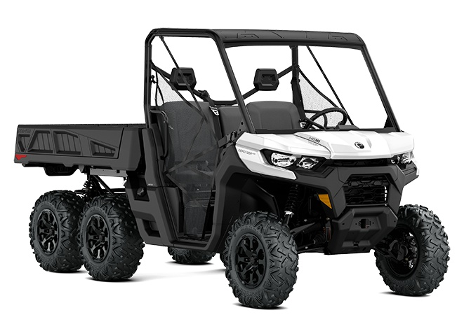 2021 Can-Am Defender 6X6 DPS White