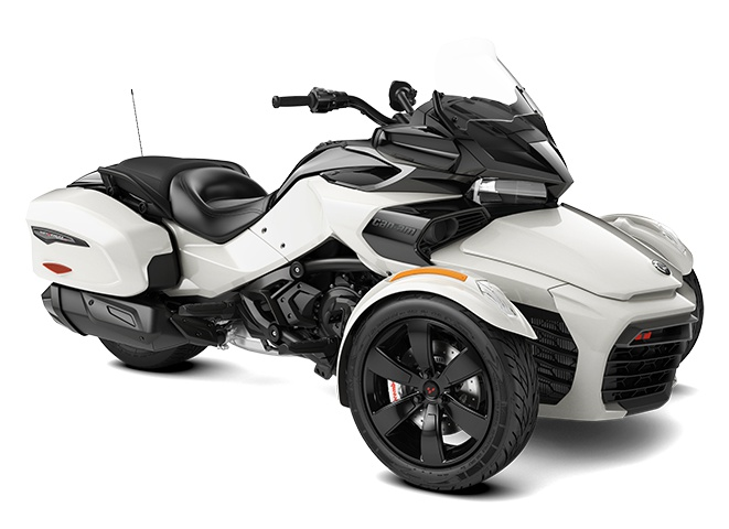 2021 Can-Am Spyder F3-T Pearl White