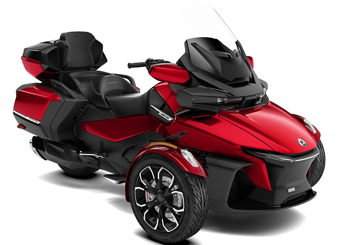 2021 Can-Am Spyder RT Limited Deep Marsala Metallic