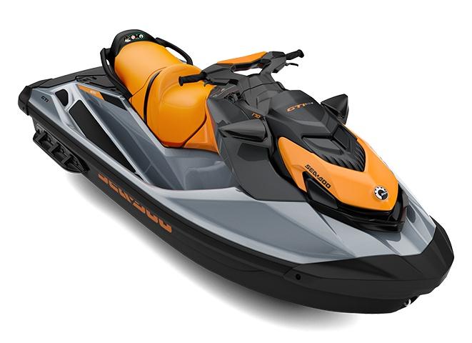 2021 Sea-Doo GTI SE 170 Ice Metal / Orange Crush