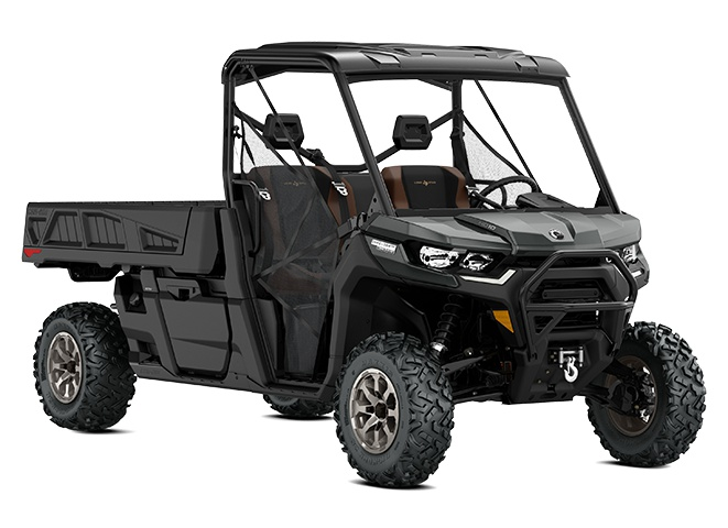 2021 Can-Am Defender Pro Lone Star Stone Gray