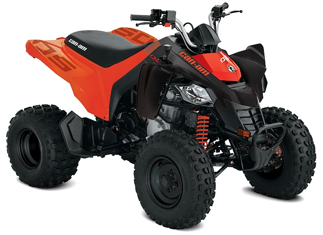 2021 Can-Am DS 250 Black & Can-Am Red