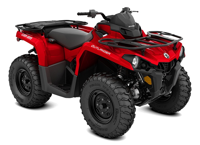 2021 Can-Am Outlander 450 Viper Red