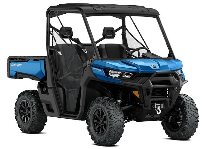 Can-Am Defender XT HD8 Bleu oxford 2021