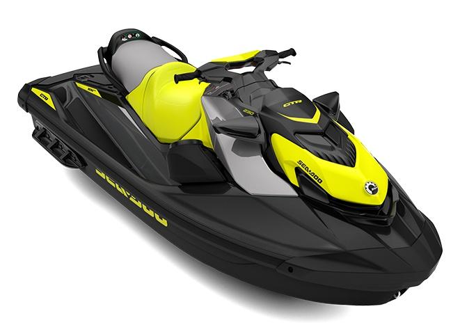 2021 Sea-Doo GTR 230 Eclipse Black / Neon Yellow