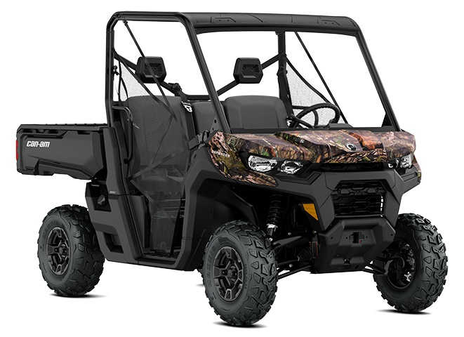 2021 Can-Am Defender DPS HD8 Mossy Oak Break-Up Country Camo