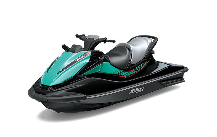 2021 Kawasaki JET SKI STX 160X Ebony / Riptide Turquoise