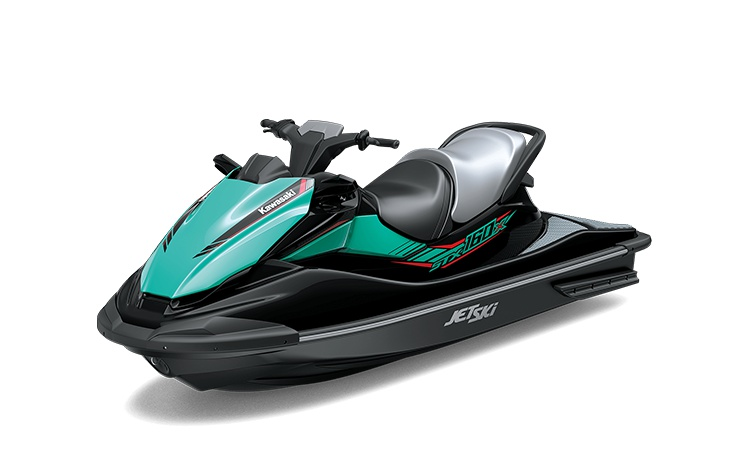 Kawasaki JET SKI STX 160X Ébène/Turquoise Marée 2021
